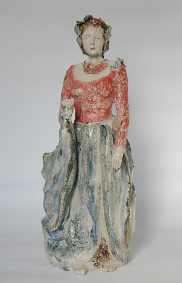 standbeeld chinese dame